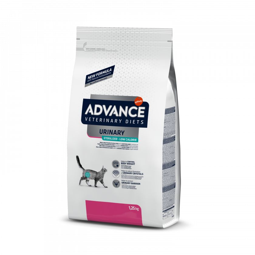 ADVANCE URINARY STRESS LOW CALORIES GATTO ADULT 1,25KG