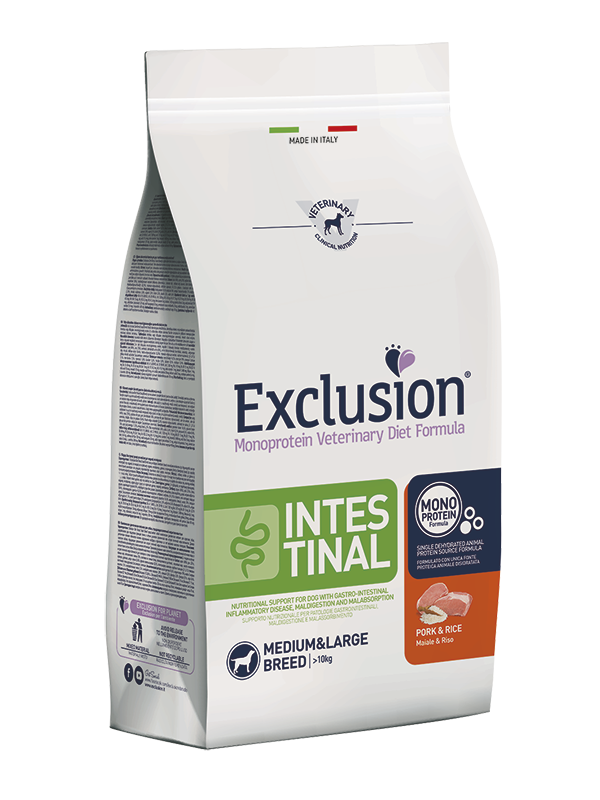 EXCLUSION INTESTINAL CANE MEDIUM LARGE