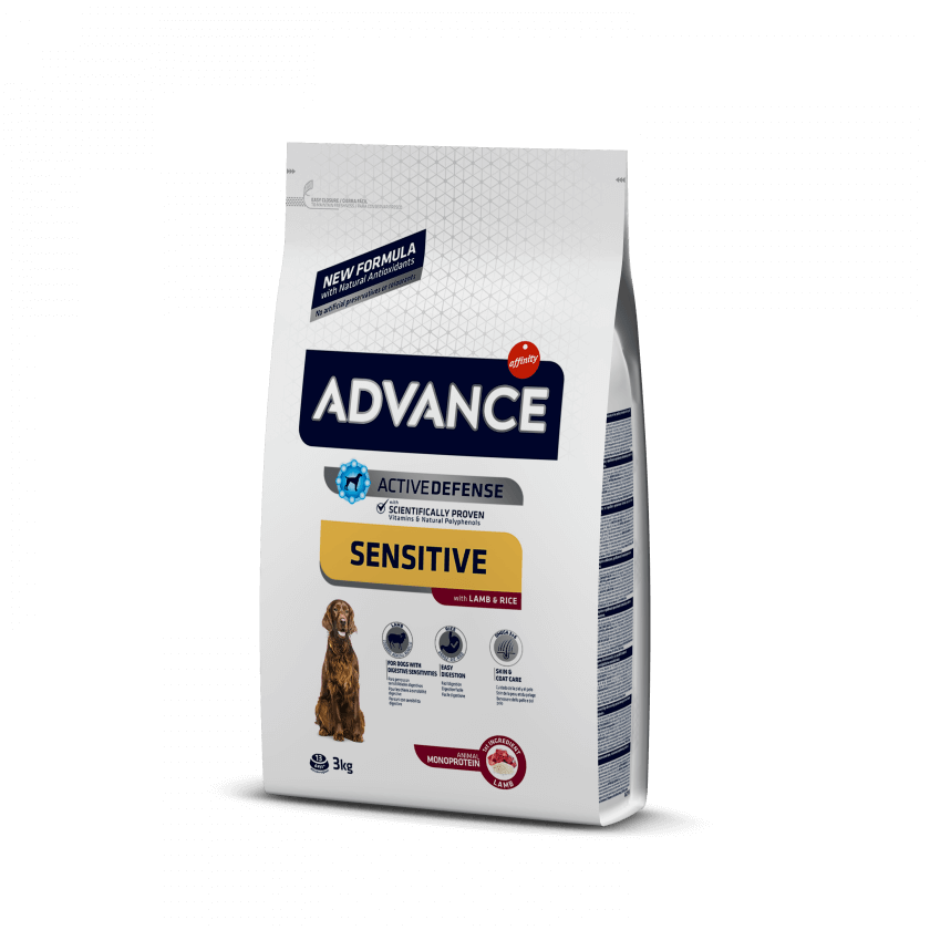 ADVANCE CANE MED/MAX SENSITIVE AGNELLO E RISO 3KG
