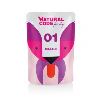 NATURAL CODE CANE P01 MAIALE 100GR