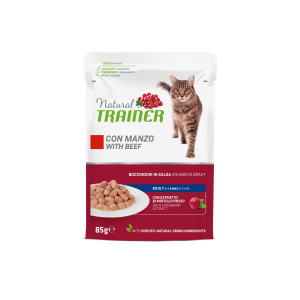 NATURAL TRAINER GATTO CON MANZO 85GR