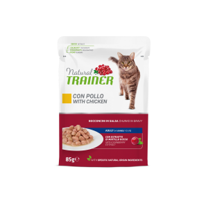 NATURAL TRAINER GATTO CON POLLO 85GR