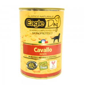 Eagle Dog Monoproteico Cavallo e Patate 400 gr