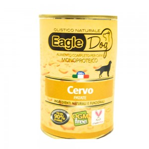 Eagle Dog Monoproteico Cervo Patate 400 Gr