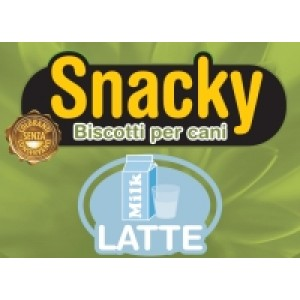 SNACKY BISCOTTO MINI CON LATTE 200GR EAGLE DOG