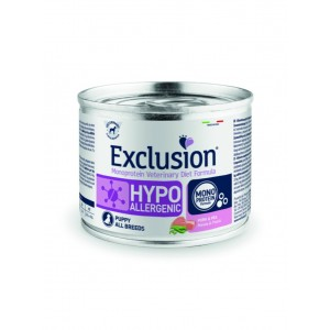 EXCLUSION HYPOALLERGENIC MAIALE E PISELLI 200 GR