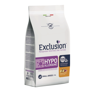 EXCLUSION HYPOALLERGENIC ANATRA E PATATE CANE SMALL 2KG
