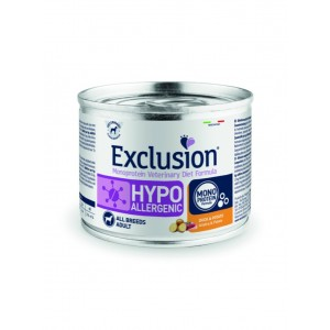 EXCLUSION HYPOALLERGENIC ANATRA E PATATE 200 GR