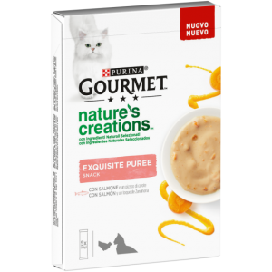 GOUMERT NATURE'S CREATION SNACK SALMONE E CAROTA 5X10 GR