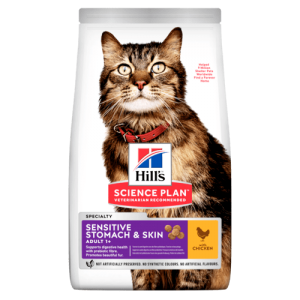 HILL'S GATTO ADULT SENSITIVE STOMACH & SKIN 1,5KG