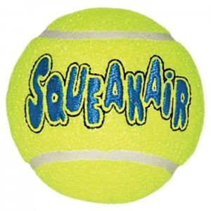 KONG SQUEAKER TENNIS BALL SMALL 3 PZ