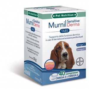 MURNIL SENSITIVE DERMA 40 COMPRESSE BAYER