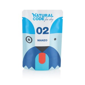NATURAL CODE CANE P02 MANZO 100GR