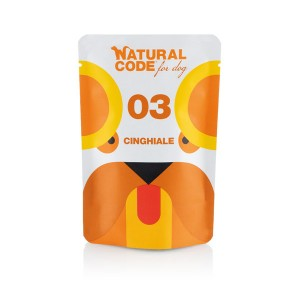 NATURAL CODE CANE P03 CINGHIALE 100GR