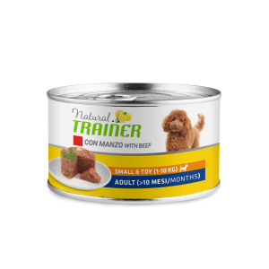 NATURAL TRAINER ADULT SMALL & TOY CON MANZO 150GR