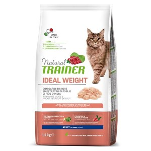 NATURAL TRAINER GATTO ADULT IDEAL WEIGHT 1,5KG