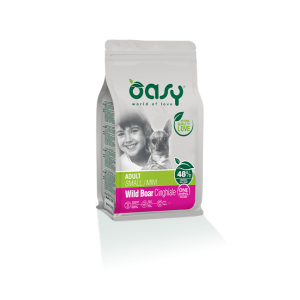 OASY CANE ADULT MINI CINGHIALE 800 GR