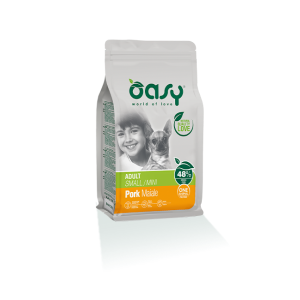 OASY CANE ADULT MINI MAIALE 800GR