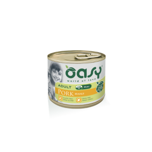 OASY CANE ADULT MINI MAIALE 200GR