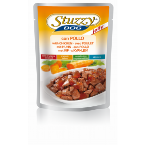 STUZZY DOG CON POLLO IN GELATINA BS 100G