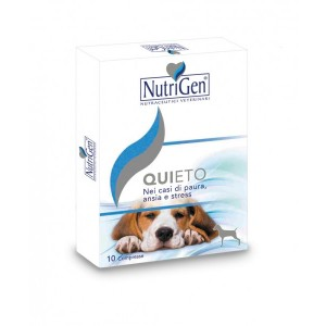 QUIETO 10 COMPRESSE NUTRIGEN