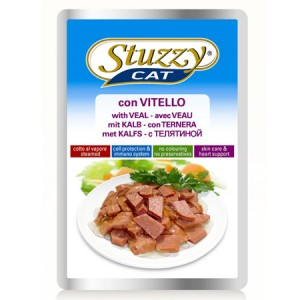 STUZZY CAT CON VITELLO 100 GR
