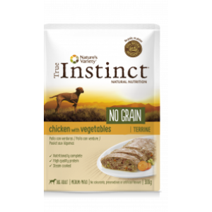 TRUE INSTINCT CANE POLLO E VEGETALI 300 GR