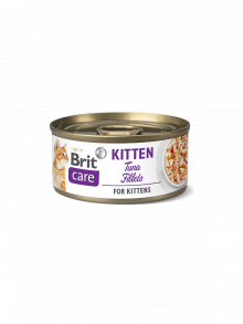 BRIT CARE GATTO KITTEN TONNO 70GR