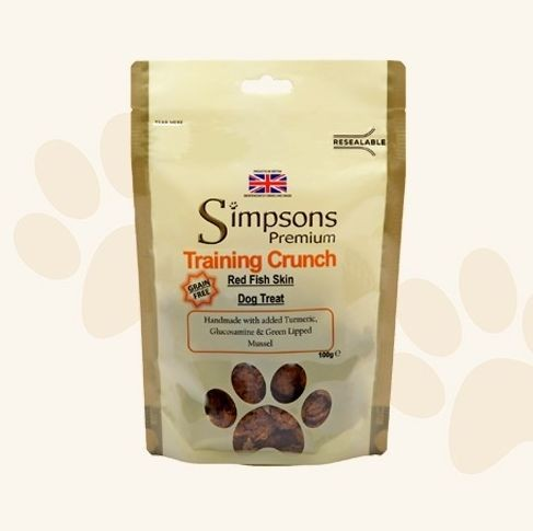 SIMPSONS SNACK CANE TRAINING CRUNCH 100G